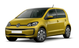 VOLKSWAGEN UP E-Up! gialla fronte