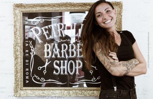 Petrolium Barbershop - La Barbieri - Nadia