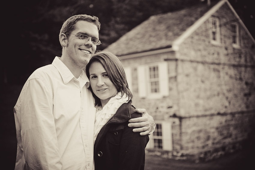 Couples Portrait Session in Downtown Ellicott City, MD