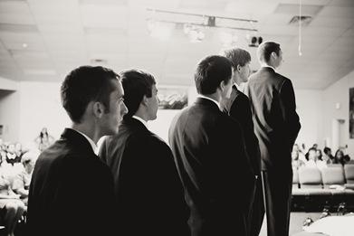 groomsmen at wedding in Mechanicsville MD