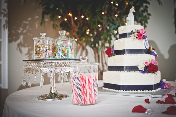 wedding cake with candy  in waldorf md