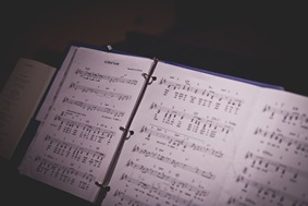 sheet music for wedding at Annapolis EP