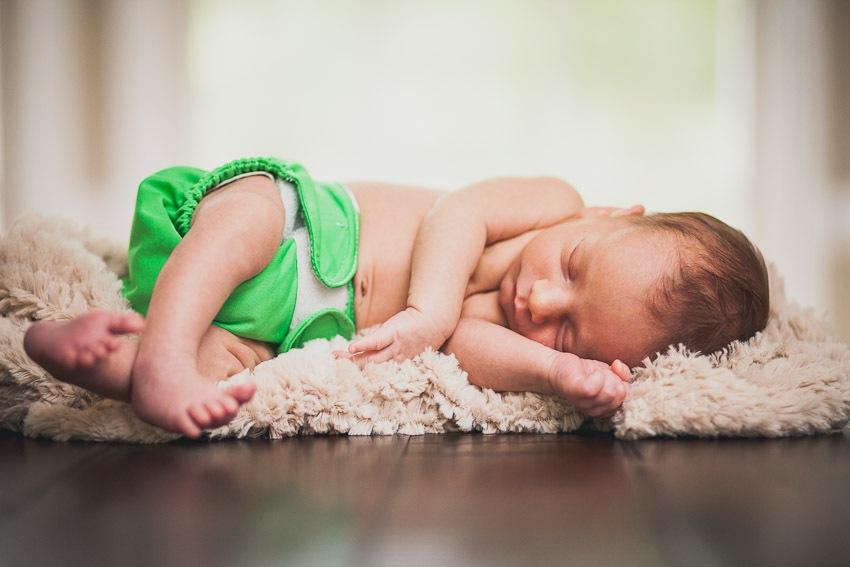 A Maternity & Newborn Portrait Session with Twin Boys