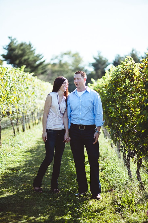 Engagement Session at Boordy Vineyard in Maryland