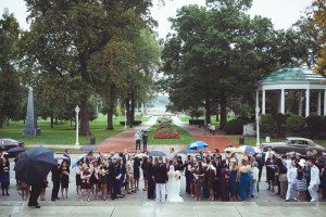 wedding-guests-after-ceremony-us-naval-academy