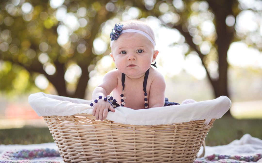Ella's First Portrait Session at Kinder Farm Park
