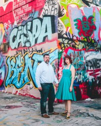 engagement session with murals and graffiti in baltimore 15