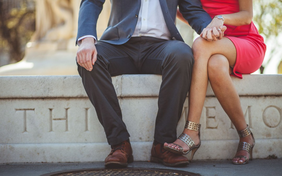 A Two Part Engagement Session in DC
