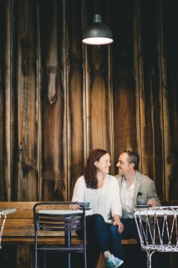 Coffee and murals engagement session in Annapolis petruzzo photography 06