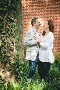Coffee and murals engagement session in Annapolis petruzzo photography 19