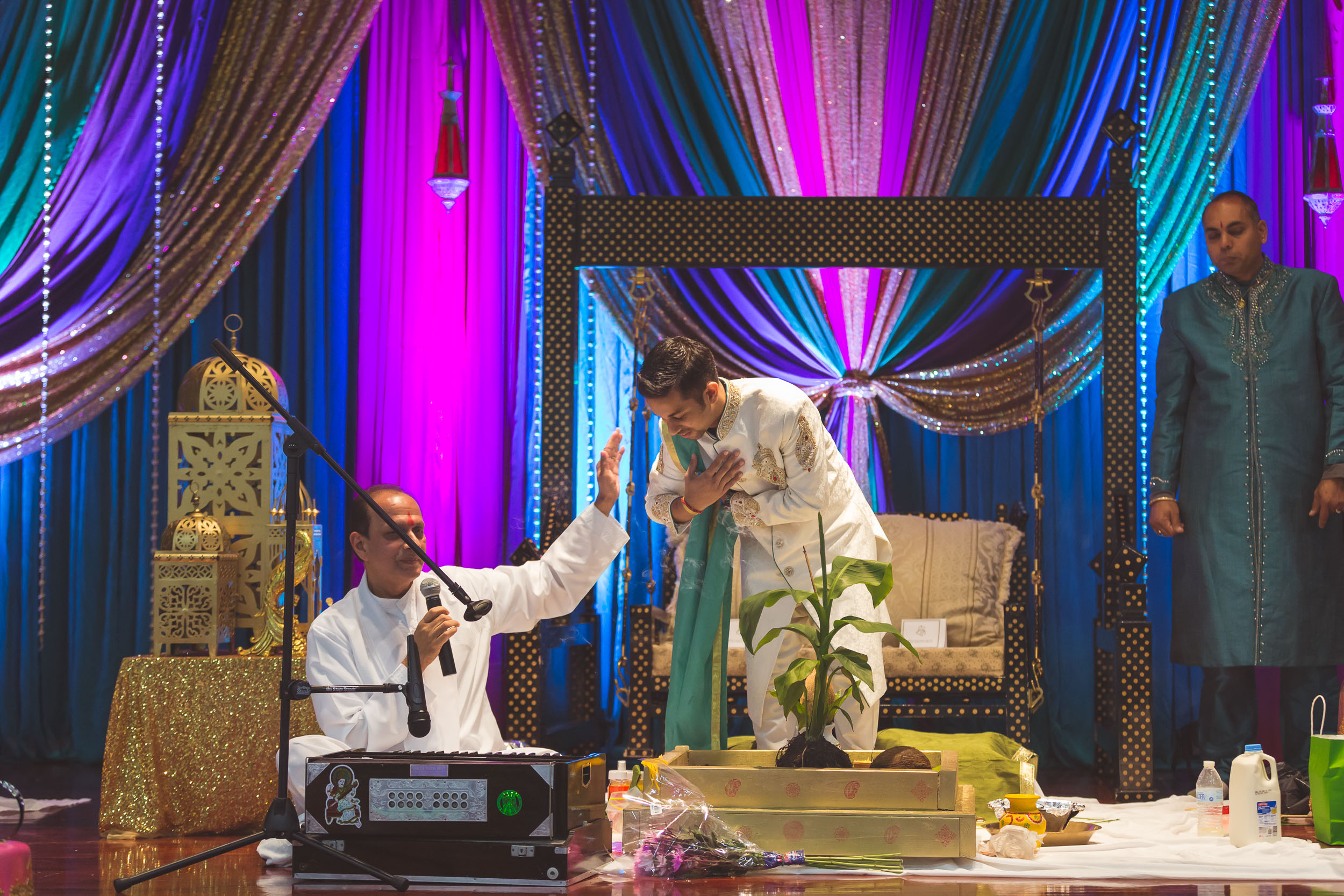 Pooja Ritual Engagement Ceremony from Felipe Sanchez with Petruzzo Photography 08