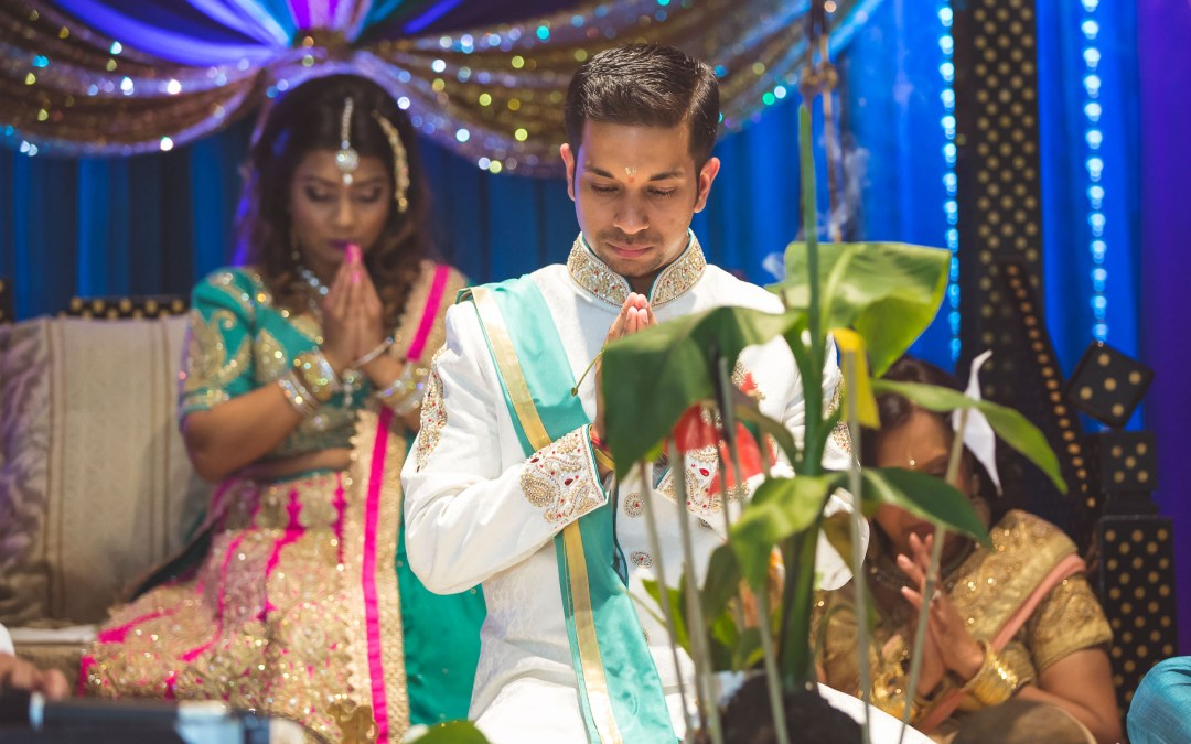 Denis & Nadia's Pooja Ritual Engagement Ceremony
