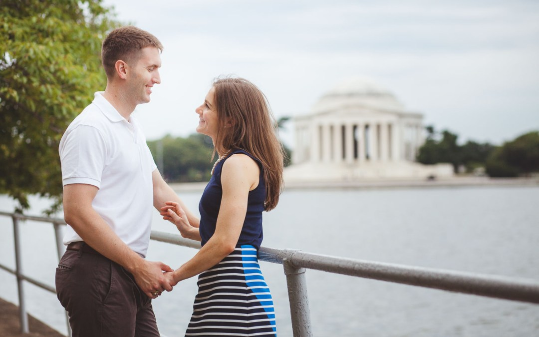 Early Morning Portrait Session at the Tidal Basin in Washington DC