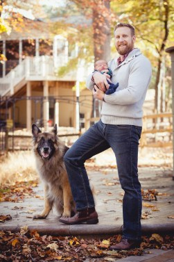 A Newborn Family Forest Portrait 08