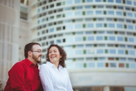 Engagement Session at John Paul 2 Memorial in DC Petruzzo Photography 01