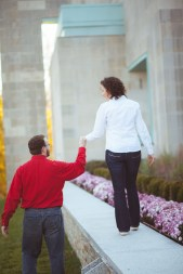 Engagement Session at John Paul 2 Memorial in DC Petruzzo Photography 03