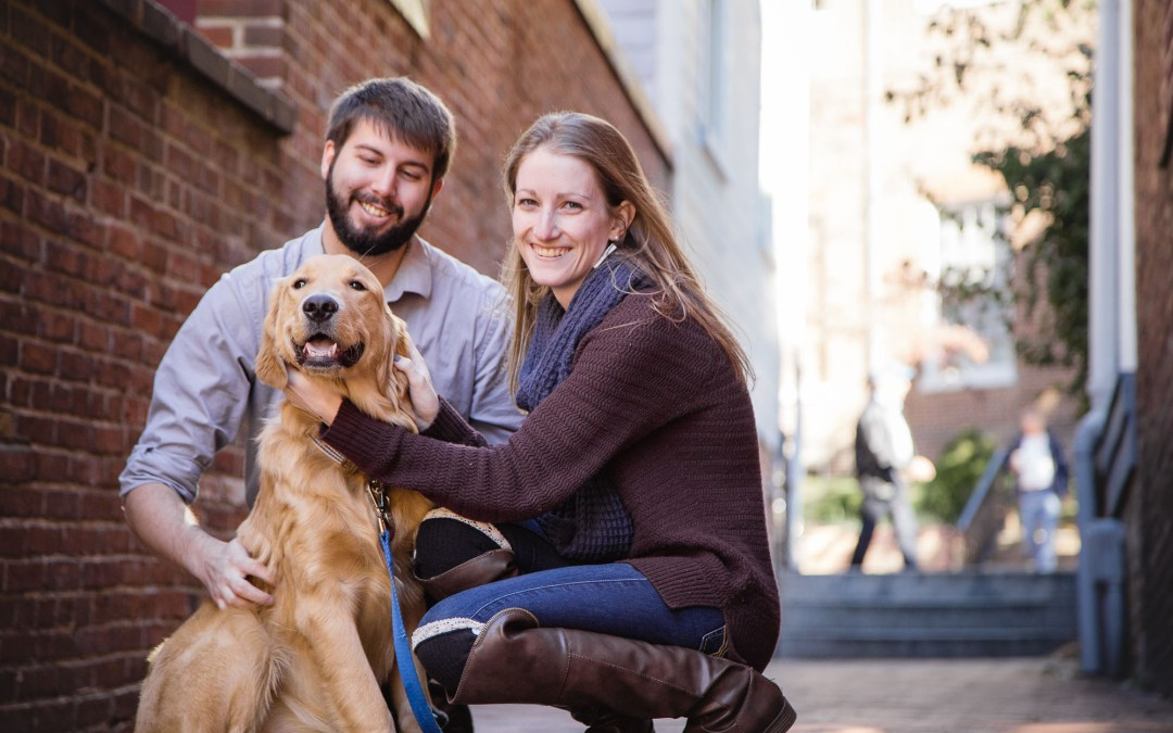 An Engagement Session with Greg in Downtown Annapolis