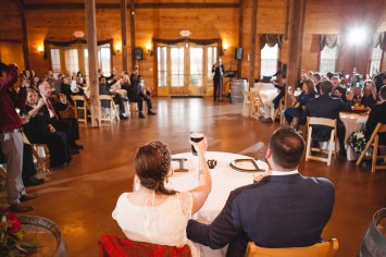 Bright Wedding On a Dreary Day at Linganor Wines 61