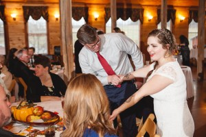 Bright Wedding On a Dreary Day at Linganor Wines 91