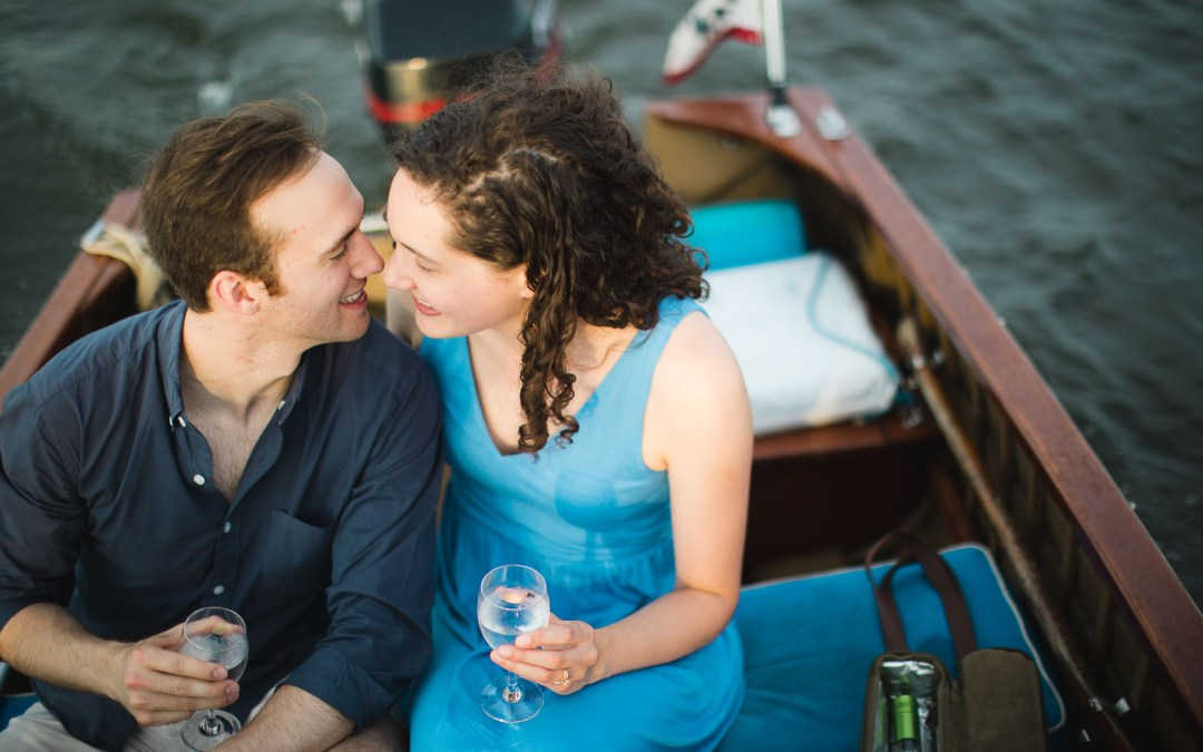 An Adventurous Engagement Session in St Michaels, Maryland