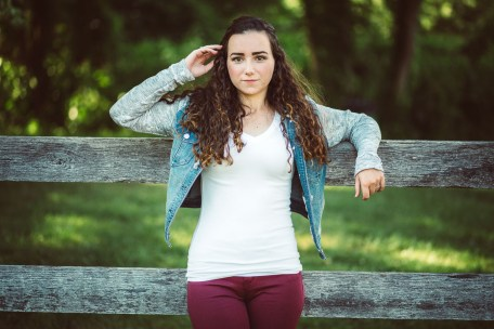 Senior Portraits at Kinder Farm Park with Greg Ferko 01