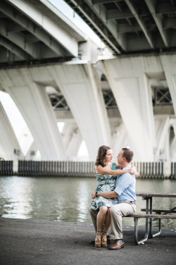 An Engagement Session Under the Woodrow Wilson Bridge Petruzzo Photography 03