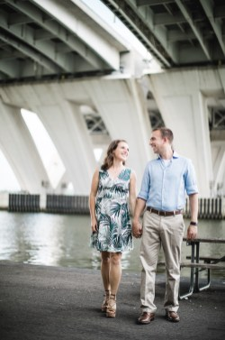 An Engagement Session Under the Woodrow Wilson Bridge Petruzzo Photography 04