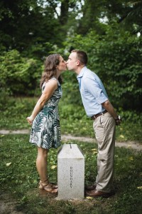 An Engagement Session Under the Woodrow Wilson Bridge Petruzzo Photography 09