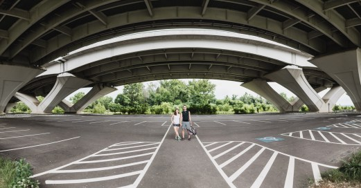An Engagement Session Under the Woodrow Wilson Bridge Petruzzo Photography 25