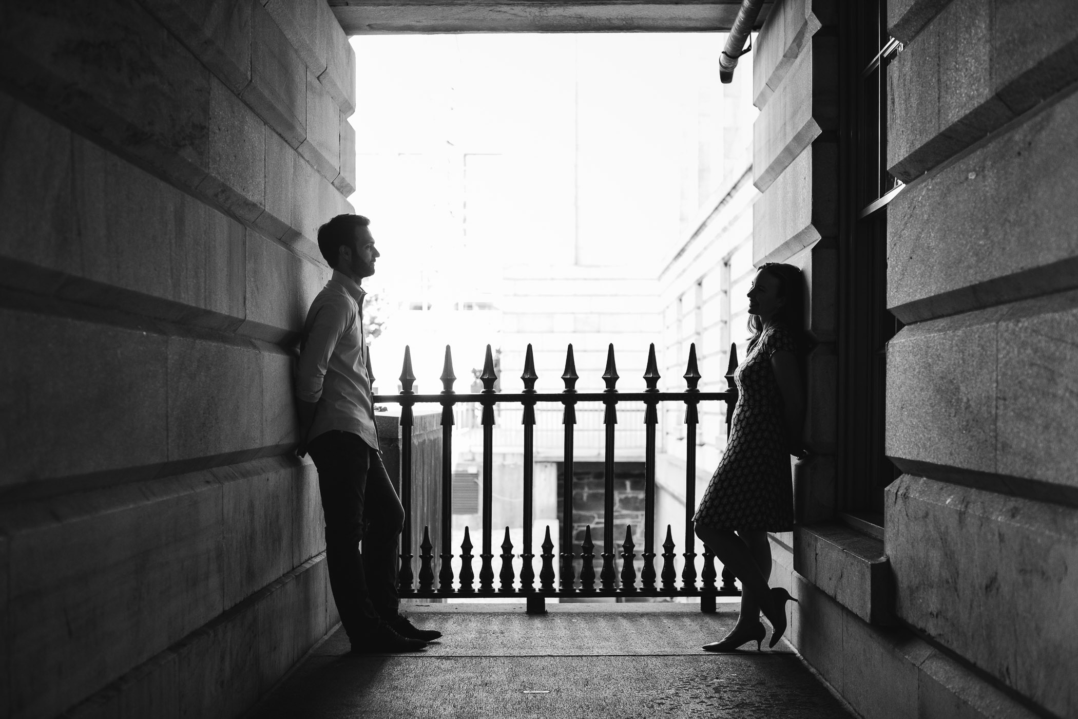 An Engagement Session Through the Halls of the National Portraits Gallery 25