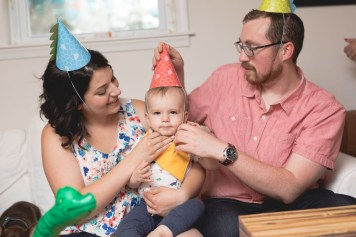 Felipe Covers This Little Guys First Birthday 29