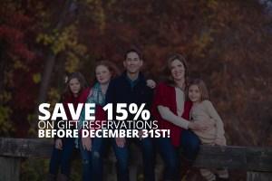 December Gift Reservations Sale