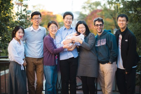 Meeting the Newborn on the Johns Hopkins Campus in Baltimore 22