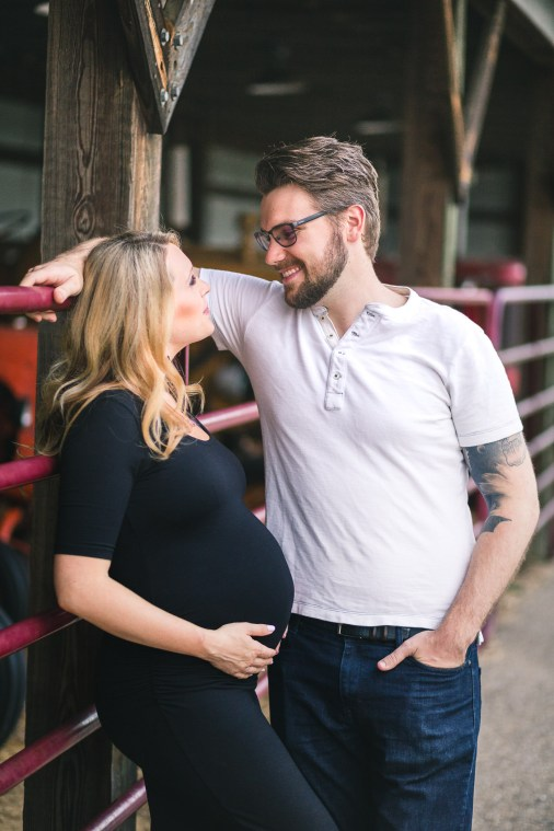 A Maternity Session from Greg Ferko at Kinder Farm Park 06