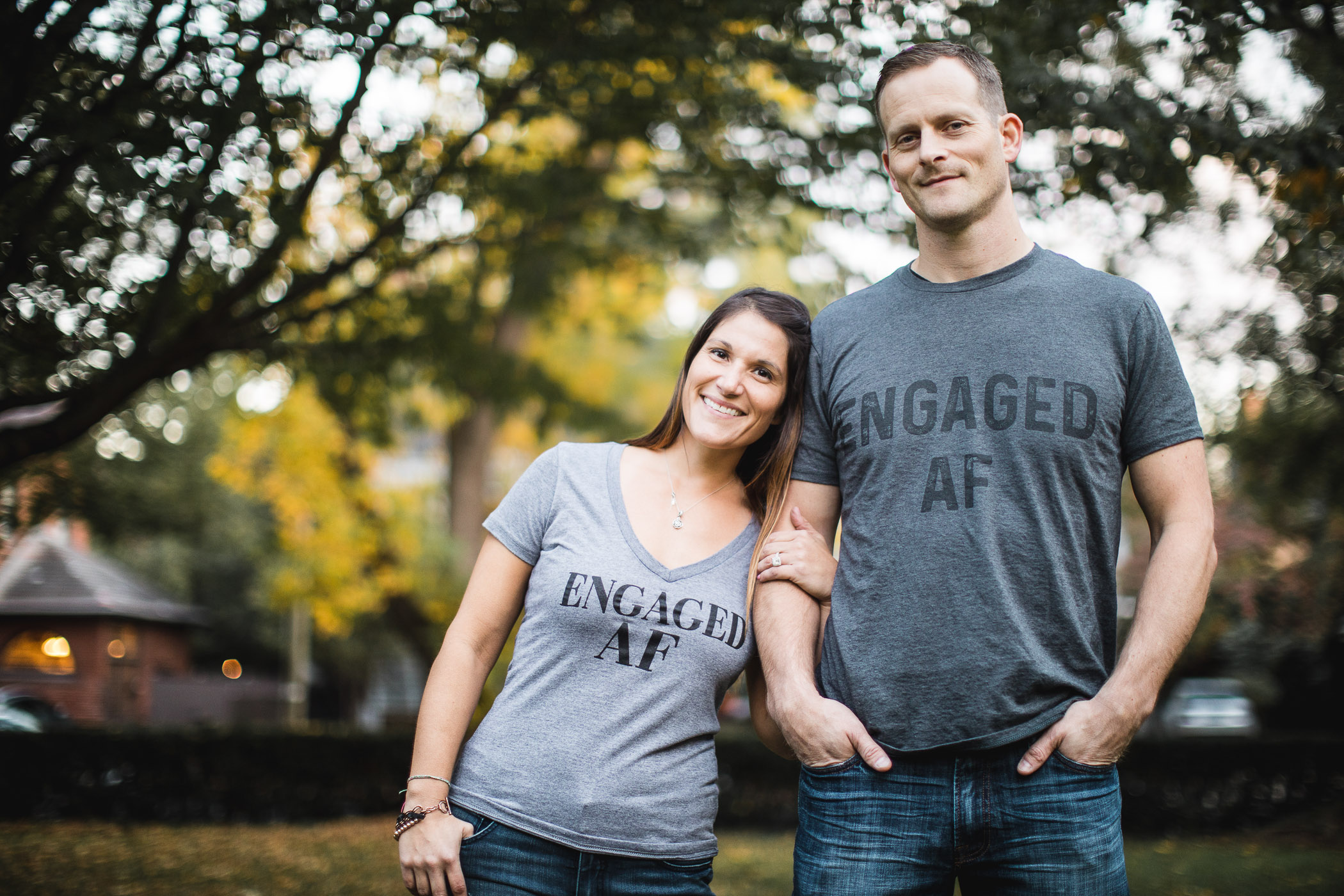 Hand & Hand & Paw Engagement Session on the Streets of Annapolis 24