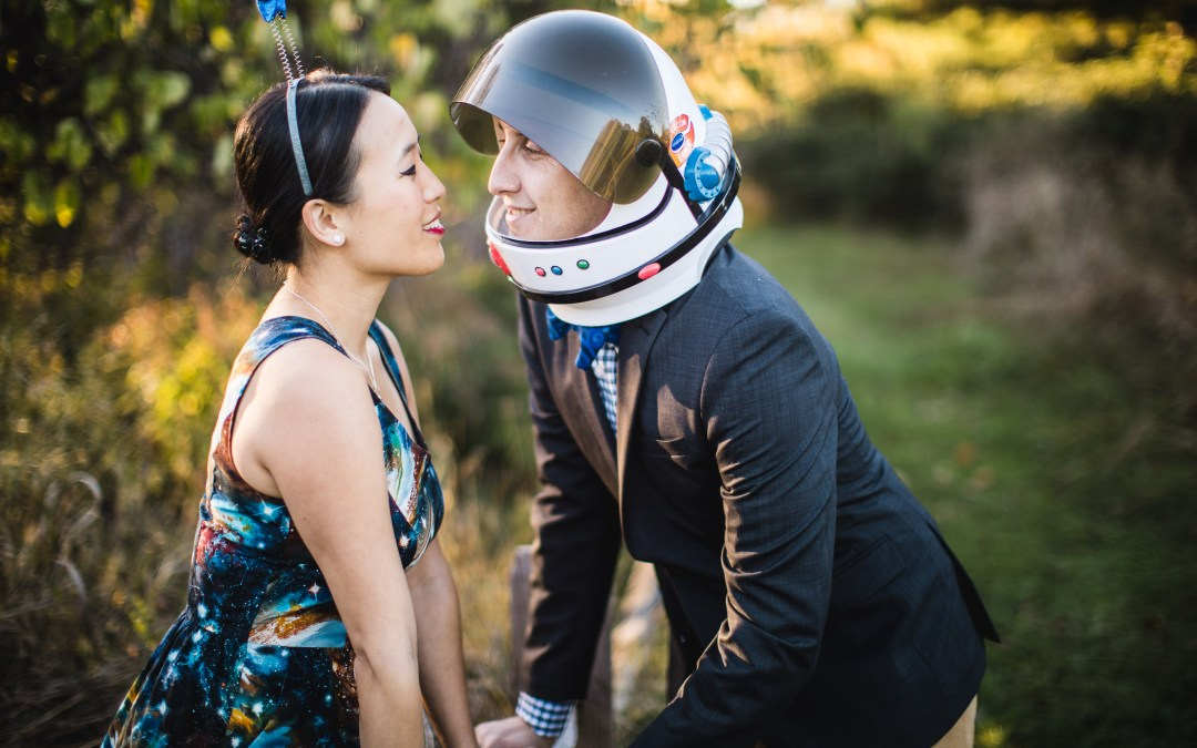 This Couple Had Their Engagement Session on Earth