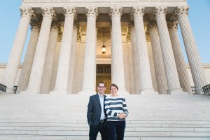 A Family Portrait at The National Portrait Gallery & The Supreme Court Grounds 33