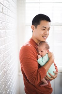 A Portrait Session with a Newborn Family 18