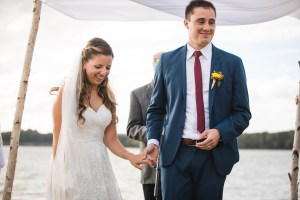 Beautiful Wedding Ceremony Formals at a Private Chesapeake Bay Lighthouse 25