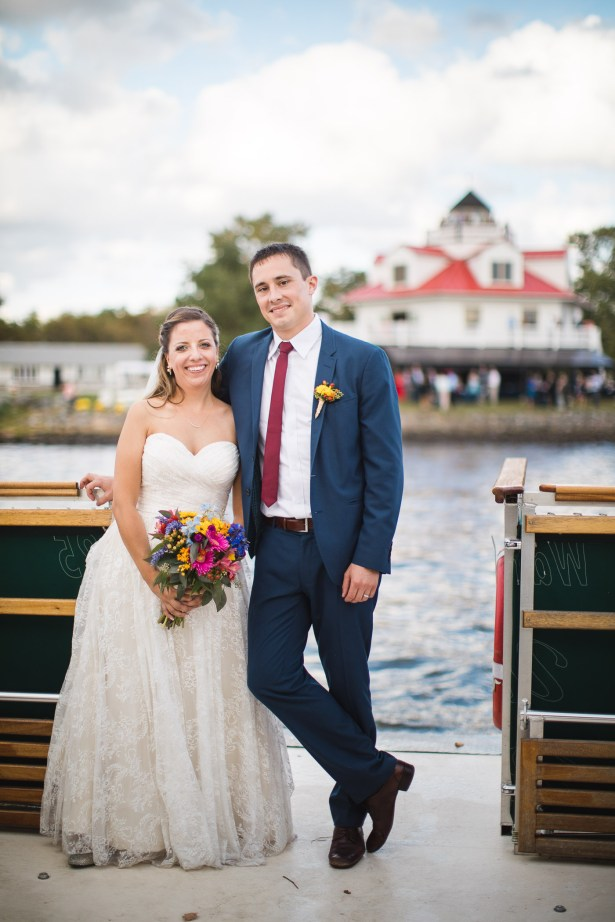 Beautiful Wedding Ceremony Formals at a Private Chesapeake Bay Lighthouse 31