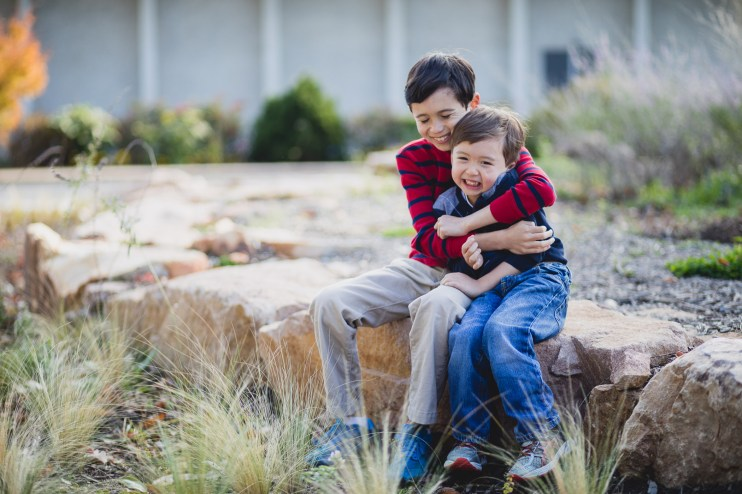 This Family Portrait Session in the National Arboretum 01