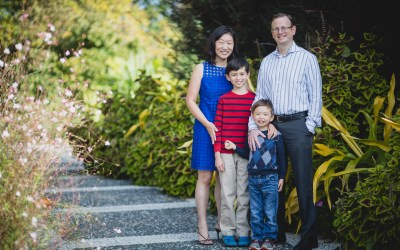 This Family Portrait Session in the National Arboretum