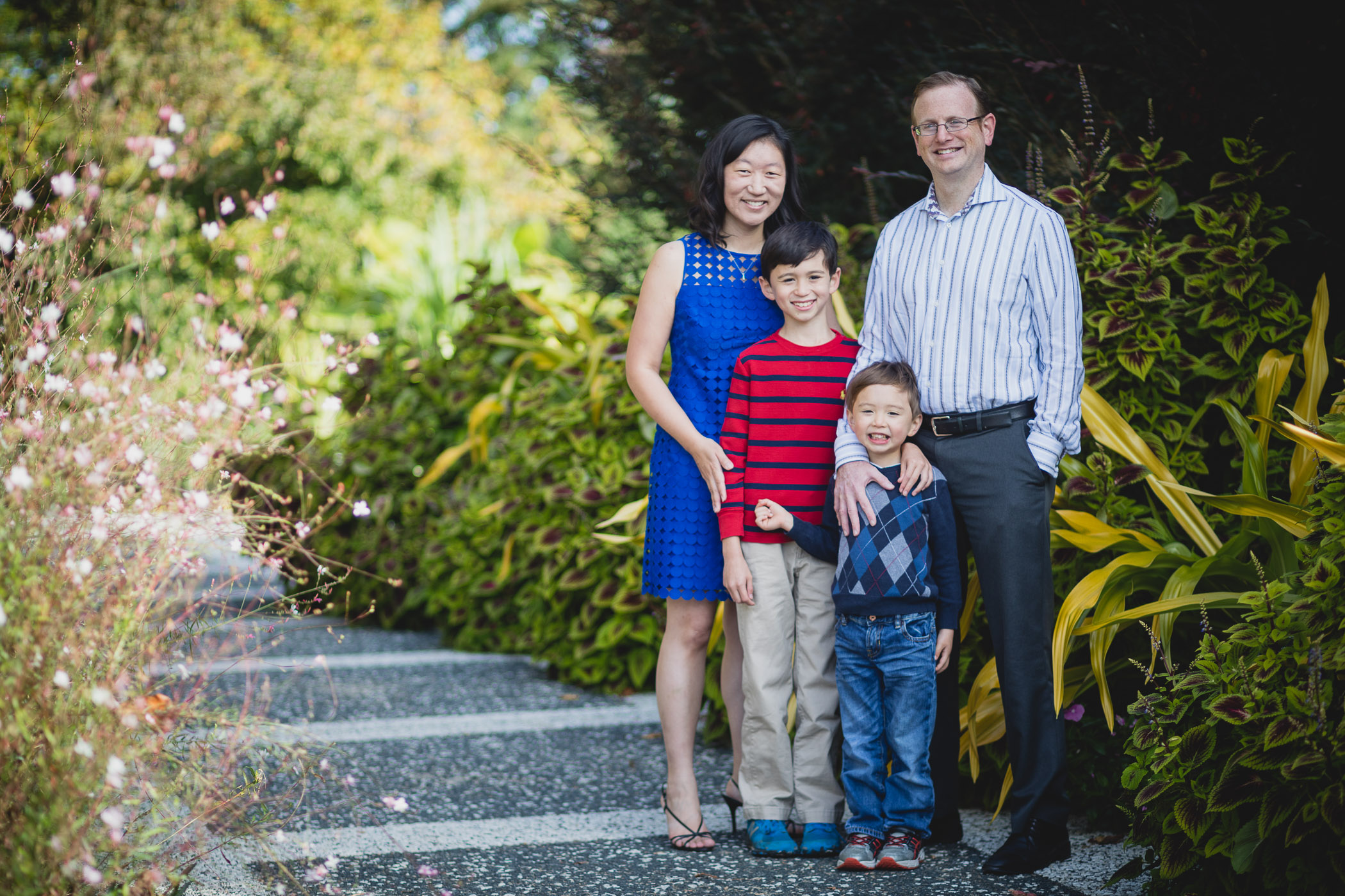 This Family Portrait Session in the National Arboretum 05