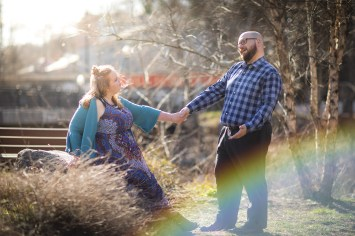 Ellicott City is For Lovers, An Engagement Session 03