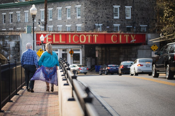 Ellicott City is For Lovers, An Engagement Session 06