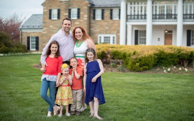 Glenview Mansion Family Portraits | Felipe with Shana & Daniel's Family