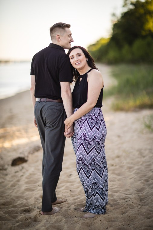 This Couple Just Got Married, Check Out Their Beach Engagement Photos 02