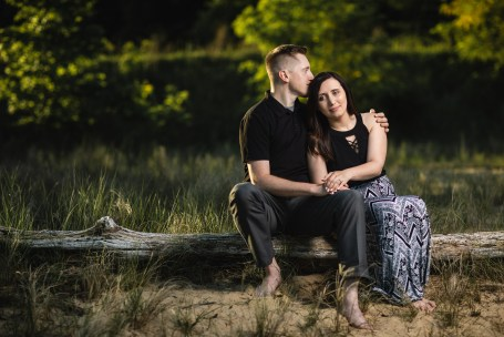 This Couple Just Got Married, Check Out Their Beach Engagement Photos 11