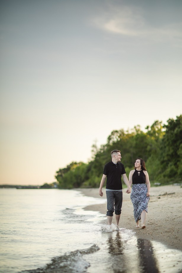 This Couple Just Got Married, Check Out Their Beach Engagement Photos 14