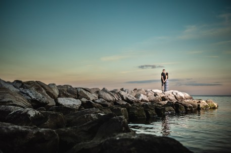This Couple Just Got Married, Check Out Their Beach Engagement Photos 17